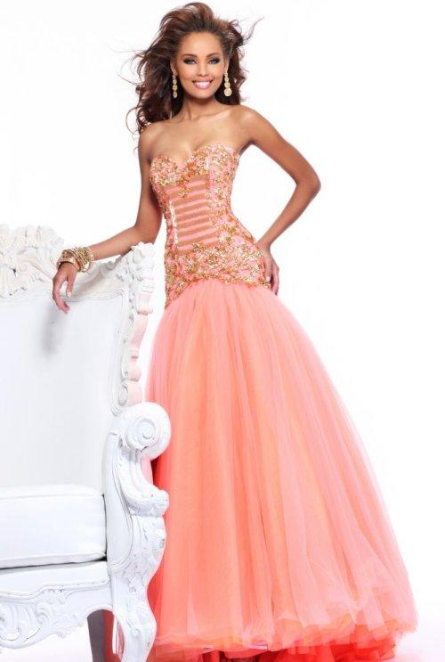 20575e7d7d70 Long Strapless Prom Dresses Sherri Hill